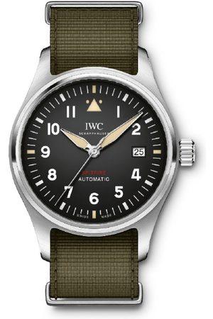 IWC SCHAFFHAUSEN Stainless Steel Pilot's Spitfire Automatic Watch 39mm