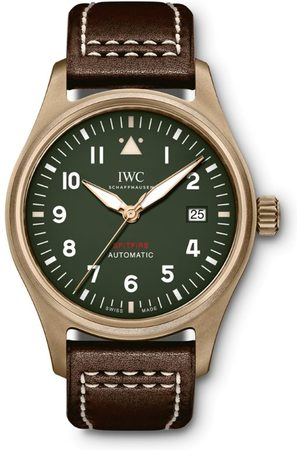 IWC SCHAFFHAUSEN Bronze Pilot's Automatic Spitfire Watch 39mm