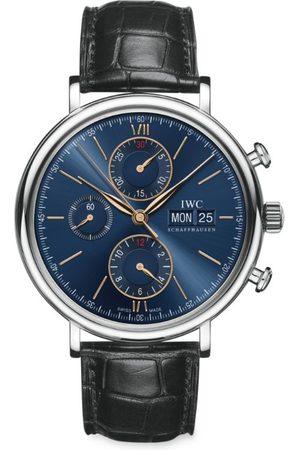 IWC SCHAFFHAUSEN Stainless Steel Portofino Chronograph Watch 42mm