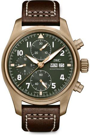 IWC SCHAFFHAUSEN Bronze Pilot's Chronograph Spitfire Watch 41.05mm