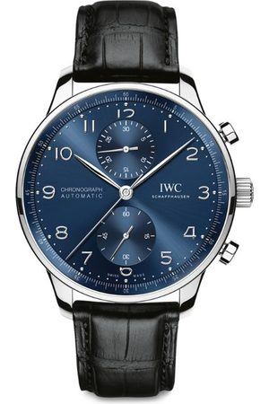 Iwc Schaffhausen Men Watches - Stainless Steel Portugieser Chronograph Watch 41mm