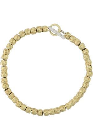 Dodo 18kt yellow beads Granelli bracelet