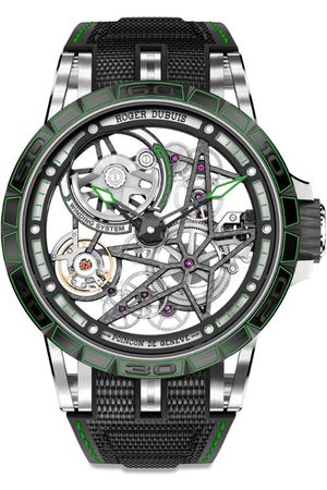 ROGER DUBUIS Titanium and Ceramic Excalibur Spider Watch 45mm