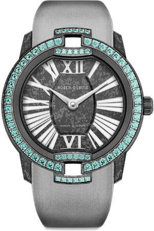ROGER DUBUIS Carbon and Paraiba Tourmaline Velvet Watch 36mm