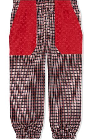 Gucci Children's Houndstooth cotton trousers