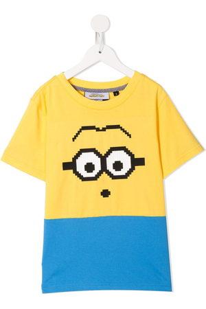 MOSTLY HEARD RARELY SEEN X Minions Mini-me Mini Goggles 8-Bit T-Shirt