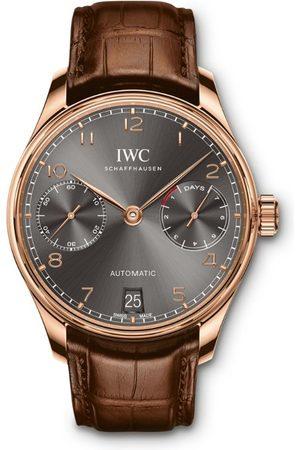 IWC SCHAFFHAUSEN Rose Gold Portugieser Automatic Watch 42.33mm