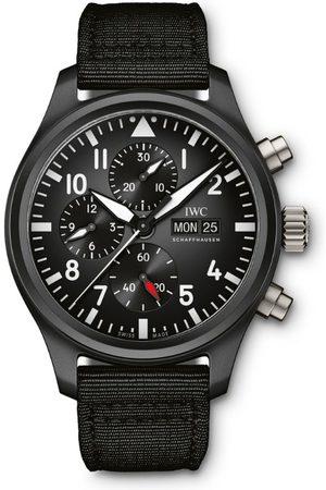 IWC SCHAFFHAUSEN Ceramic Pilot's Chronograph TOP GUN Watch 44.5mm