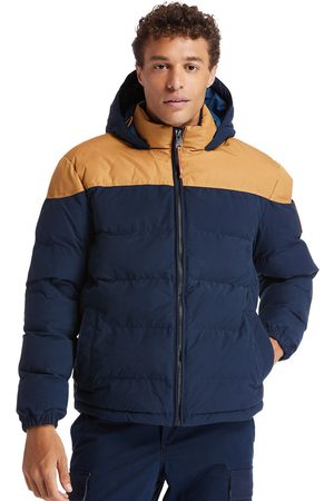 Timberland Welch mountain warm puffer jacket for men in /blue /blue, size s