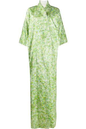 A.N.G.E.L.O. Vintage Cult 1970s floral jacquard kimono