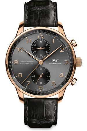 IWC SCHAFFHAUSEN Rose Gold Portugieser Chronograph Watch 41mm