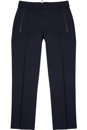 Moncler Grenoble Navy Stretch-twill Trousers