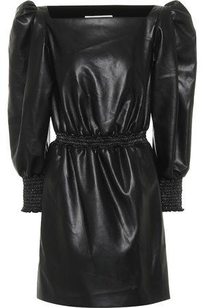 Serafini Faux leather minidress