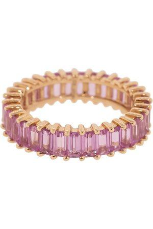 Dana Rebecca Designs 14kt rose gold Kristyn Kylie pink sapphire band - ROSEGOLD