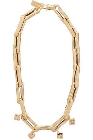 Lauren Rubinski Love-charm Link-chain 14kt Necklace - Womens