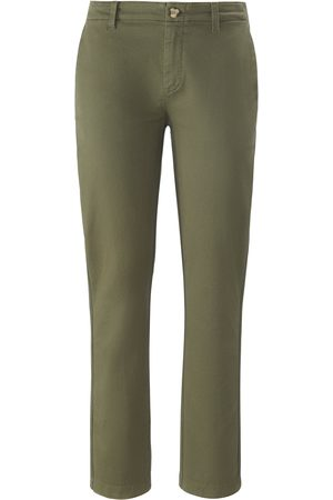 DAY.LIKE Ankle-length Slim Fit trousers in stretch cotton size: 10s