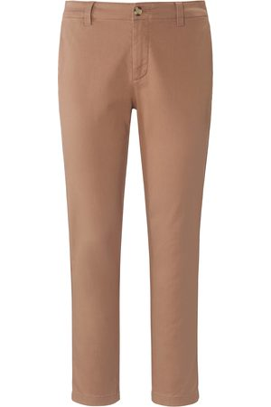 DAY.LIKE Ankle-length Slim Fit trousers in stretch cotton size: 14s