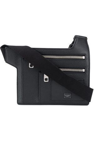 Dolce & Gabbana Palermo angular multi-zip flat belt bag