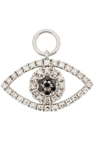 Roxanne First 14kt diamond-embellished eye charm