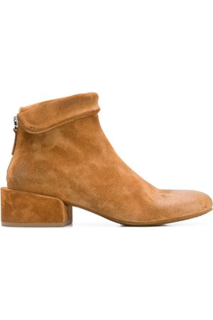 MARSÈLL Oversized heel ankle boots - Neutrals