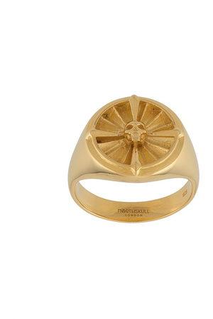 NORTHSKULL Atticus Skull pinky ring