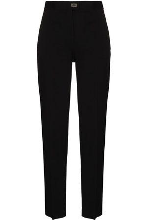 Salvatore Ferragamo High-waist tailored trousers
