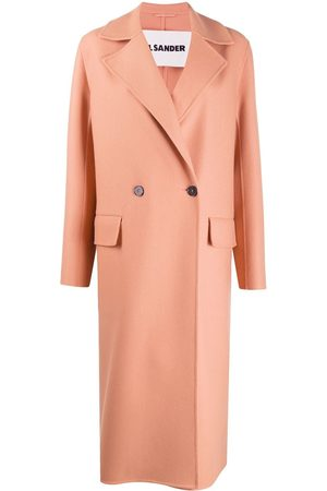 Jil Sander Cashmere double-breasted peacoat - Neutrals