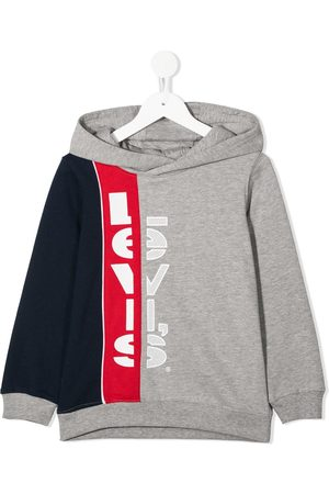 Levi's Colour-blocked logo hoodie