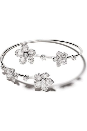 David Morris 18kt Miss Daisy Open Twist diamond bangle