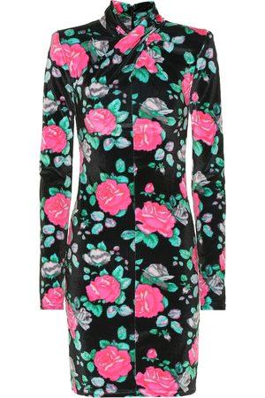 RICHARD QUINN Floral stretch-jersey minidress