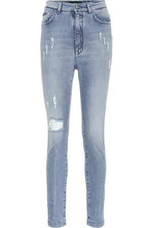 Dolce & Gabbana Audrey high-rise slim fit jeans