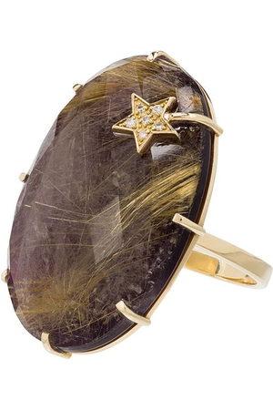 Andrea Fohrman 14kt yellow amethyst ring