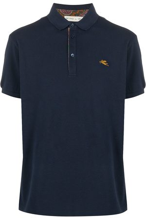 ETRO Men Polo Shirts - Embroidered logo polo short