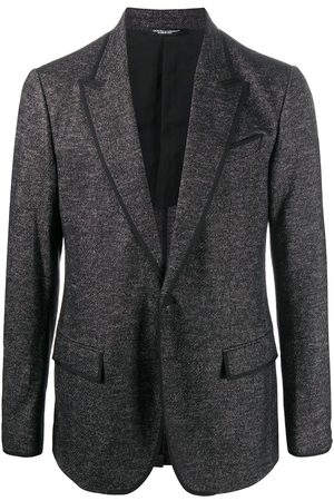 Dolce & Gabbana Woven single-breasted blazer