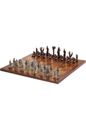 Royal Selangor Men Rings - War of the Rings Chess Set