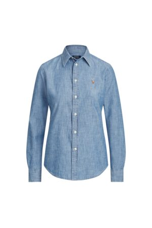 Polo Ralph Lauren Women Blouses - Cotton Chambray Shirt
