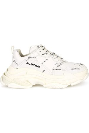 Balenciaga Triple S Allover Logo Sneakers