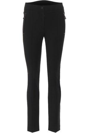 Moncler Women Skinny Trousers - High-rise slim fit pants