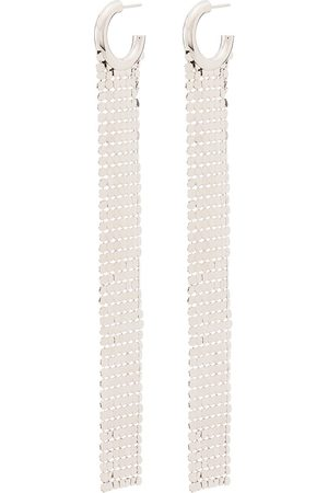 Paco Rabanne Pixel chainmail earrings