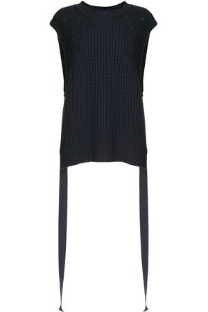 GOEN.J Side taps knitted top