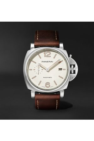 PANERAI Men Watches - Luminor Due Automatic 42mm Stainless Steel and Leather Watch