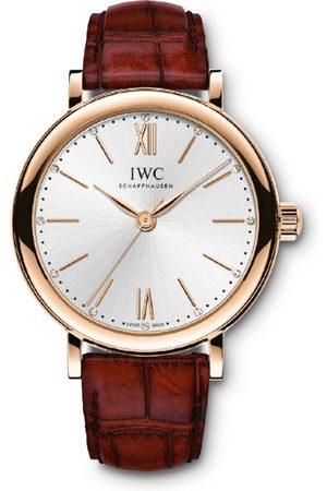 IWC SCHAFFHAUSEN Rose Gold and Diamond Portofino Automatic Watch 34mm
