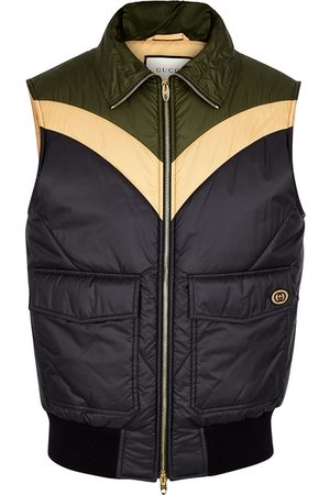 Gucci Colour-blocked Shell Gilet