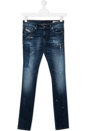 Diesel Straight-leg washed jeans