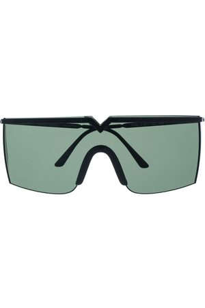 Versace Pre-Owned Sunglasses - 1990s tinted shield sunglasses