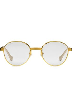 Gucci Eyewear Men Sunglasses - Round frame sunglasses