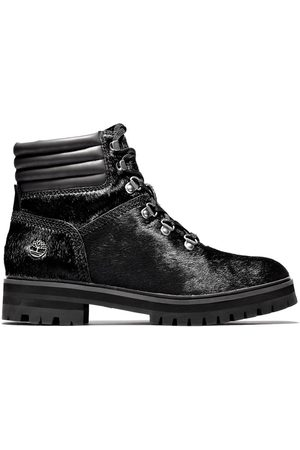 Timberland Women Boots - London square mid hiker for women in monochrome monochrome, size 3.5