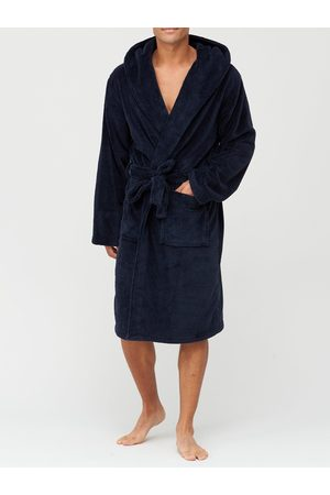 Very Man Supersoft Dressing Gown With Hood