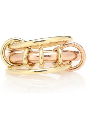 SPINELLI KILCOLLIN Gemini 18kt yellow and rose gold ring