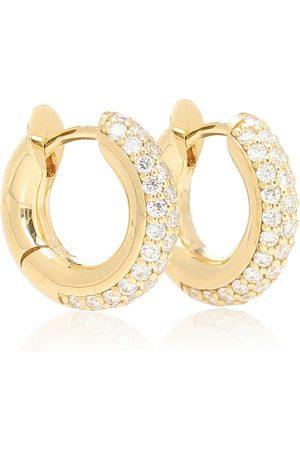 SPINELLI KILCOLLIN Mini Macro Hoop 18kt and diamond earrings